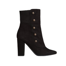 Gigi Bootie - Black Suede is one of Barcemoda's best ladies black suede booties
