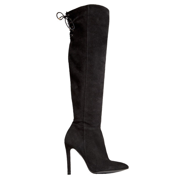 Marissa Boot - Black Suede is one of Barcemoda's most comfortable black suede boots.