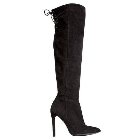 Marissa Boot - Black Suede
