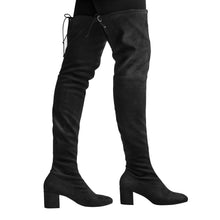 Macarena Boot - Black Suede