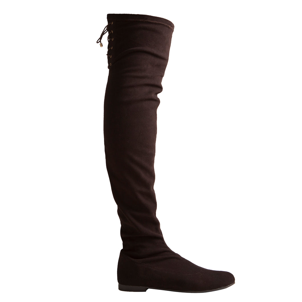 Paula Boot - Black Suede is one of Barcemoda's most versatile ladies black suede boots.