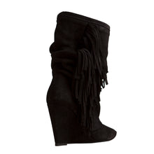 Sayan Bootie - Black Suede is one of Barcemoda's most comfortable and stylish ladies black booties.
