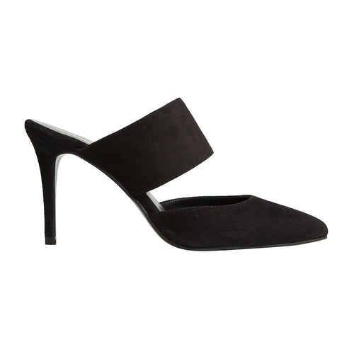 Alba Stiletto - Black Suede