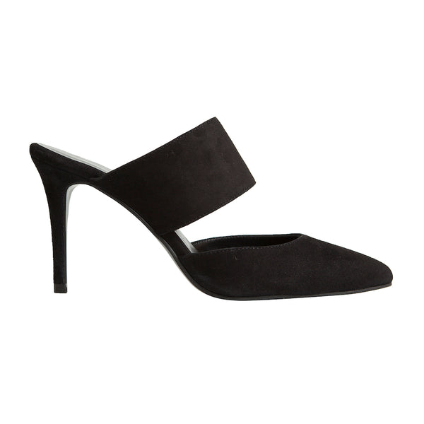 Alba Stiletto - Black Suede is one of Barcemoda's most elegant ladies stiletto heels.