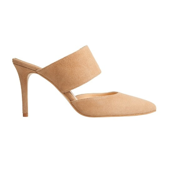 Alba Stiletto - Mink Suede is one of Barcemoda's most sophisticated ladies stiletto heels.