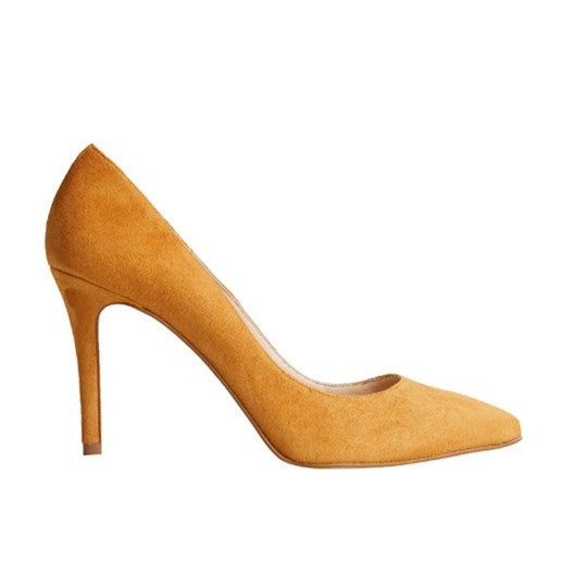 Vega Stiletto - Brown Suede is one of Barcemoda's softest ladies stiletto heels.