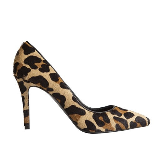 Vega Stiletto - Leopard Cowhide is one of Barcemoda's most comfortable ladies stiletto heels.