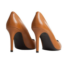 Vega Stiletto - Brown Leather