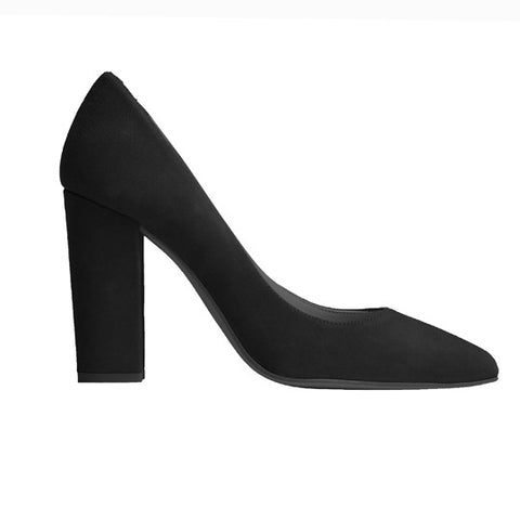 Catalina Stiletto - Black Suede
