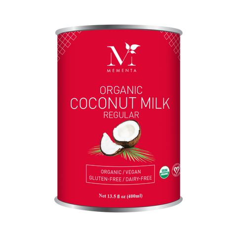 Organic Coconut milk regular, 18%