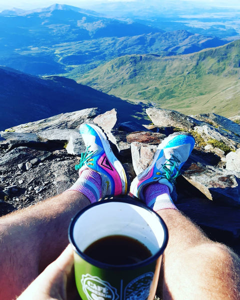 Sustenance is important for trail running