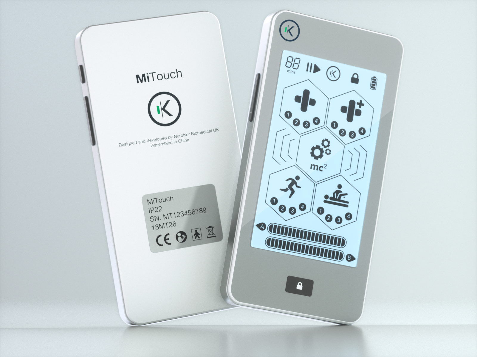 MiTouch BodySystem - KorOS5 Complete Bioelectronic Body Therapy System