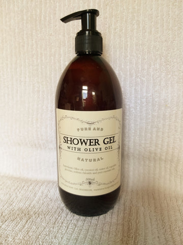 Shower Gel with Olive oil 500ml