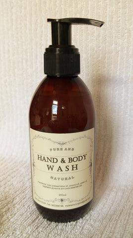 Hand and body wash 200ml