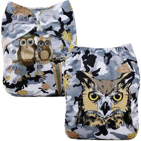 Position Print Pocket Nappy P116