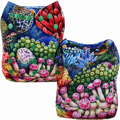 Position Print Pocket Nappy P202