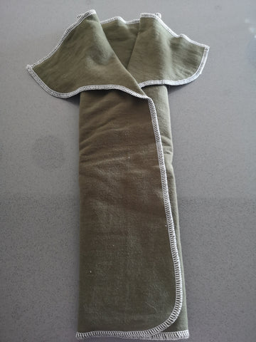 Perfect prefold - slurp (9-16kg) Olive green