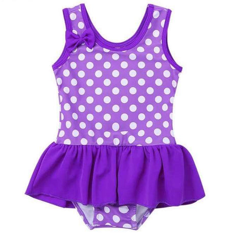 Purple Polka Dot 1 Piece Costume