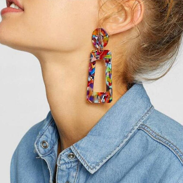 Earrings model Balesi (11 colors) - MEEDIL