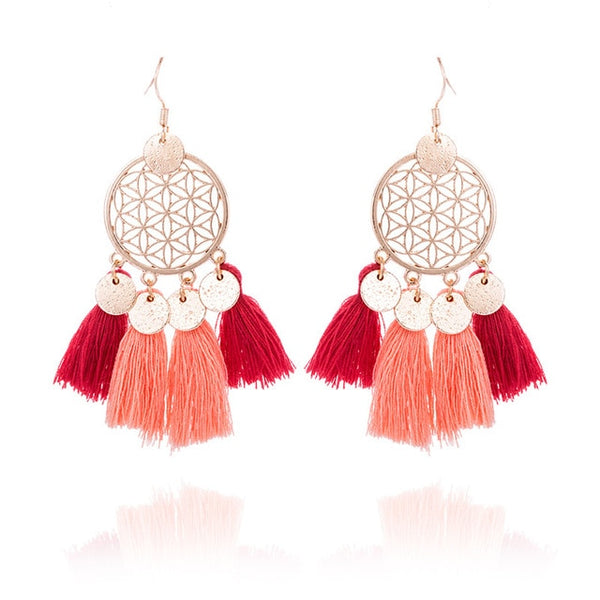 Earrings model Ethnic (11 colors) - MEEDIL