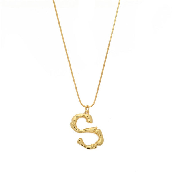 Necklace Initial Letters - MEEDIL