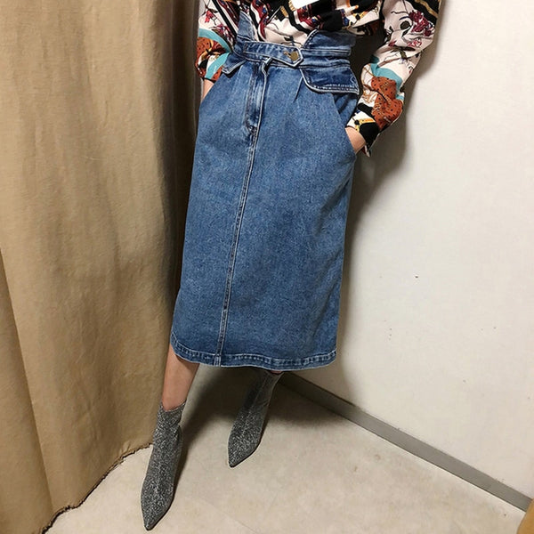 Denim fashion skirt - MEEDIL