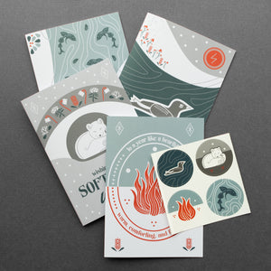 Ice and Fire Greeting Card Bundle