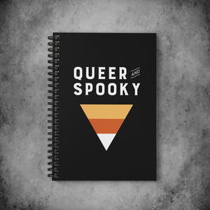 Queer and Spooky Notebook