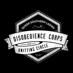 Disobedience and Knitting Shirt