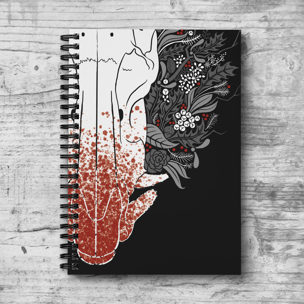 Winter Boar Notebook