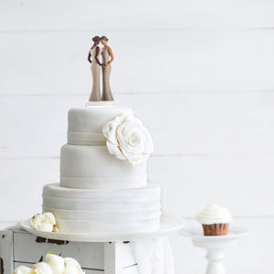 The Tradition Behind Wedding Cake Toppers - the Idea of Togetherness