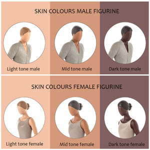 Mid Skin Tone Female