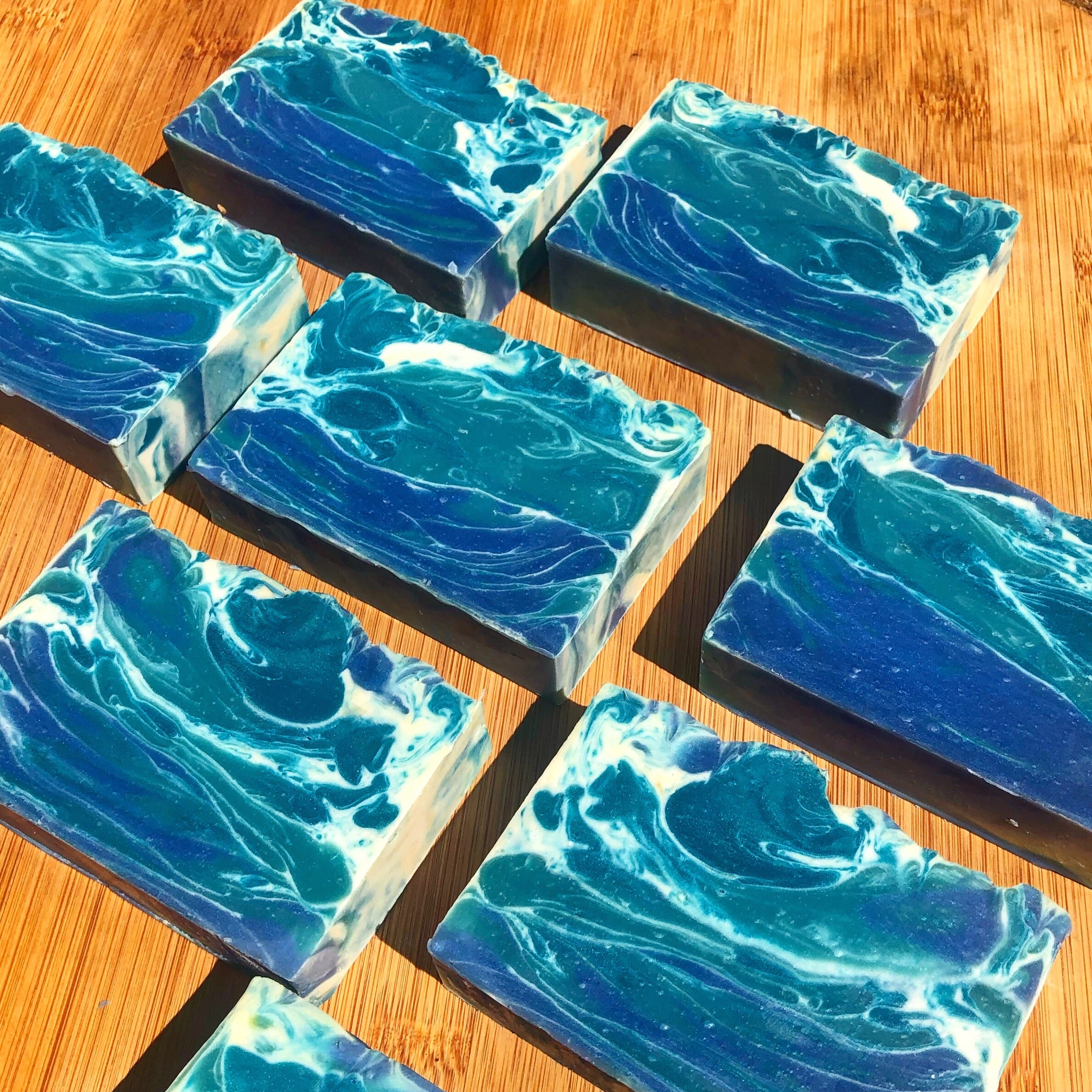 Blue Man Natural Soap