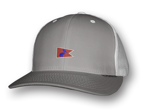 Grey Pelican Pennant Snap-Back