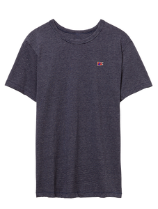 Men's Dockside T Midnight Stripe