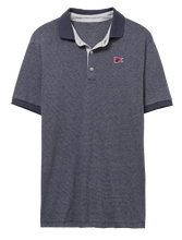 Load image into Gallery viewer, Men's Dockside Polo Midnight Stripe