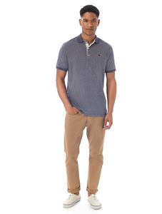 Men's Dockside Polo Midnight Stripe