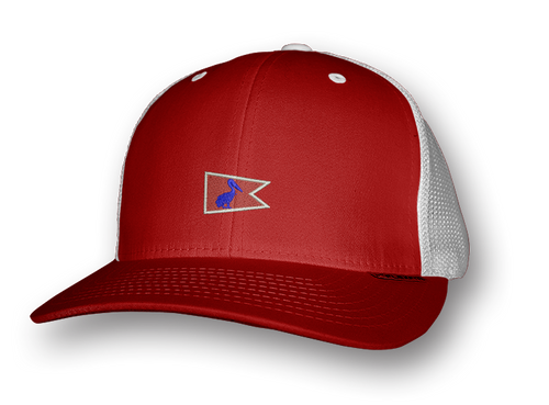 Red Pelican Pennant Snap-Back