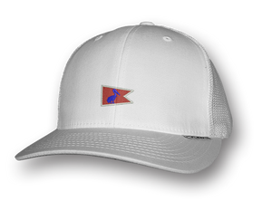 White Pelican Pennant Snap-Back