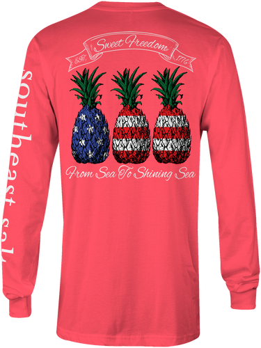 American Pineapple Long Sleeve