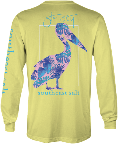 Blue Leaves Long Sleeve