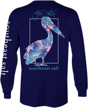 Load image into Gallery viewer, Blue Leaves Long Sleeve