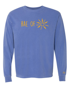 Long Sleeve Tee - Flo Blue