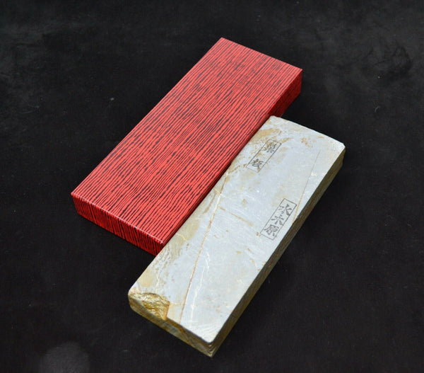 Japanese Natural Whetstone Mizkihara Suita 60' Size 846g from Kyoto Japan *F/S*