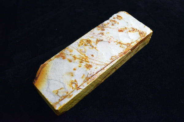 Natural Whetstone Hideriyama Renge Shiro (White) Suita 80' size 788g Kyoto *F/S*
