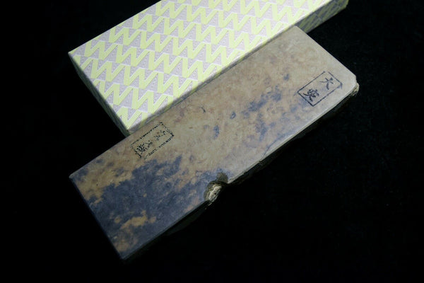 Japanese Natural Whetstone Ozuku Karasu 781g for Razor from Kyoto Japan *F/S*