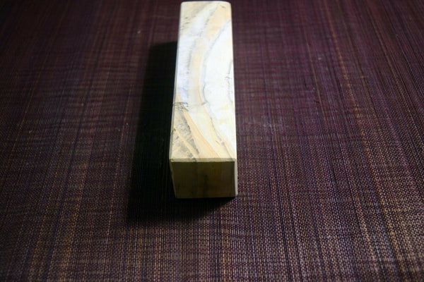 Japanese Natural Whetstone Mikawa Shima (Chu) Nagura 333g from Aichi Pref. Japan