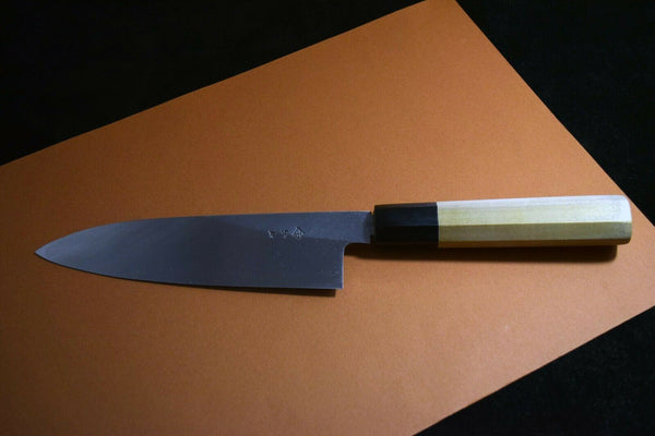 Japanese Chef Knife Itsuo Doi Shirogami White 3 Wa Santoku 175mm from Japan *F/S