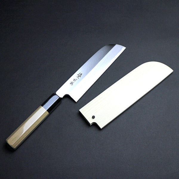 JAPAN White steel 【Nakiri】 KNIFE / Kitchen knife blade cutlery vegetable knife
