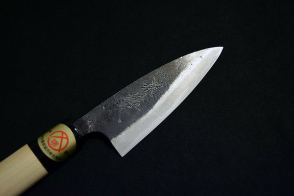 Japanese Chef / Kitchen knives *Mint* Ikyu Double Beveled Black Ajikiri 105mm Y3 (2020090903)